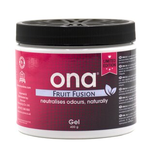 ONA Gel Fruit Fusion 400g Glas