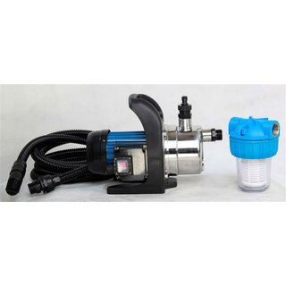 Jet Pressure Pump 3500l/h stainless steel SET
