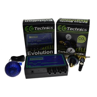 Ecotechnics Evolution Co2 Komplettset